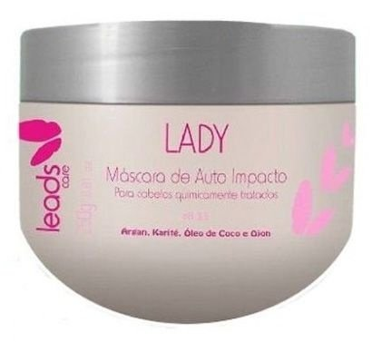Leads Care Lady Máscara de Auto Impacto Efeito Teia - 300g