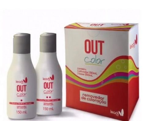Out Colour Removedor de Coloração - Decapagem 150ml
