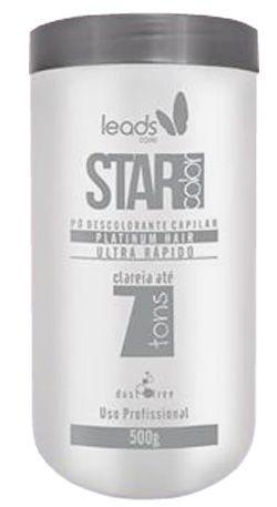 Star Color Platinum Hair Pó Descolorante Ultra Rápido 500g
