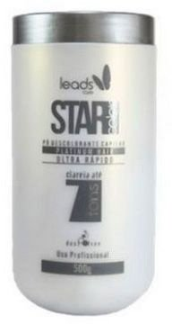 Star Color Platinum Hair Pó Descolorante Ultra Rápido 500g