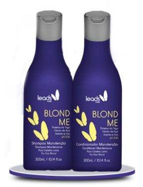 Blond Me Kit Manutenção Shampoo e Condicionador 300ml