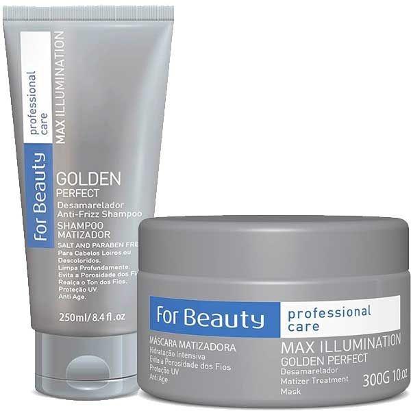 Golden Perfect Kit Shampoo e Máscara Matizador