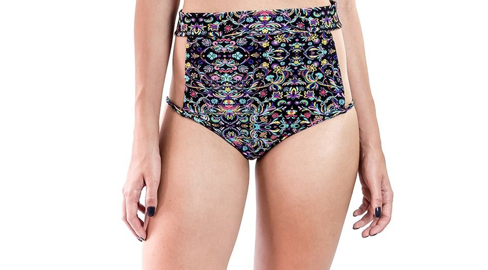 Hot Pants Tule - Arco-Íris - Colorido