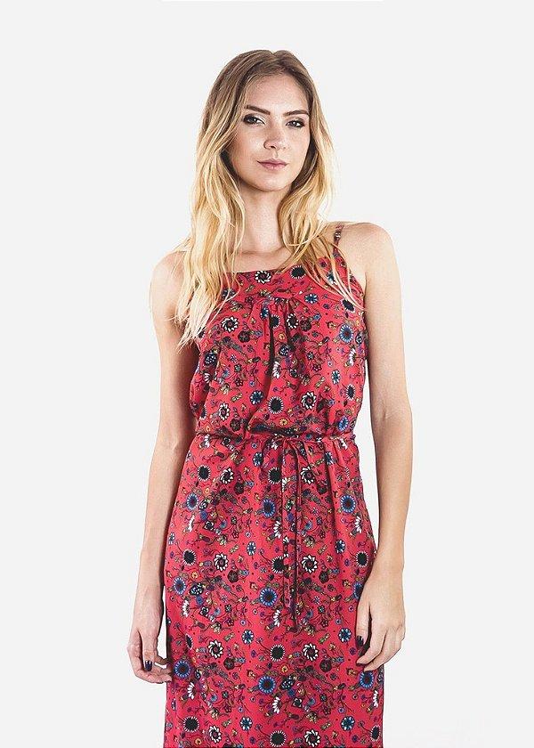 Vestido - Abacaxi - Vermelho