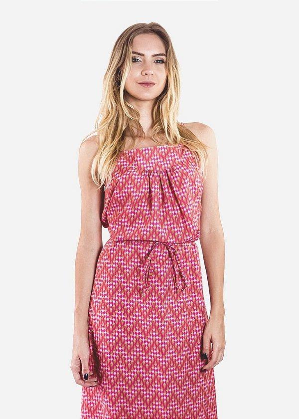 Vestido - Tribal - Pink