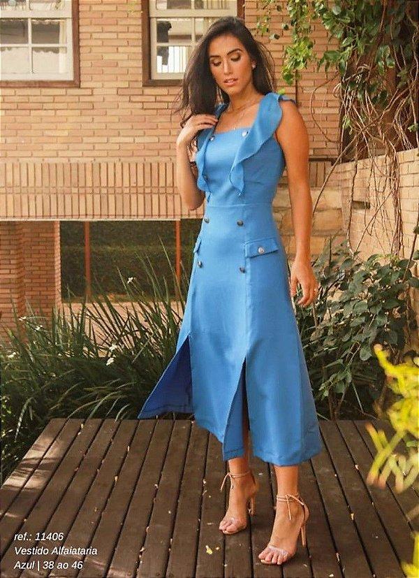 Vestido Alfaiataria Detalhes