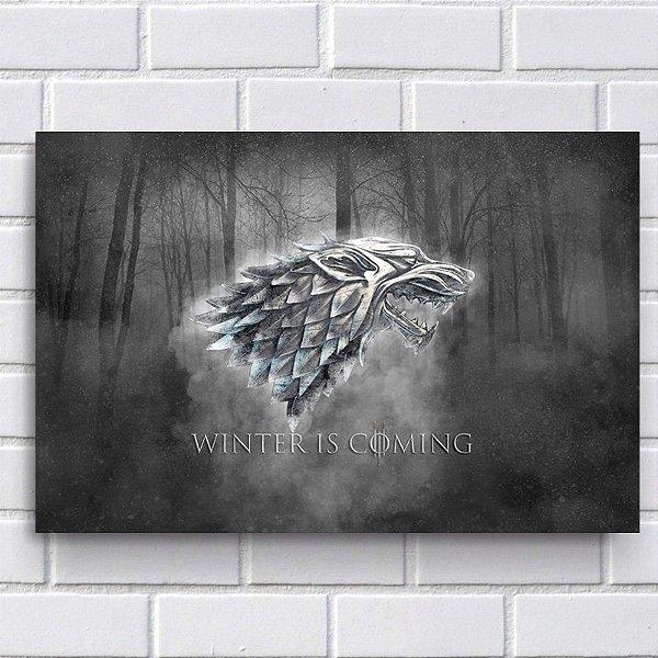 Placa Decorativa - Game of Thrones