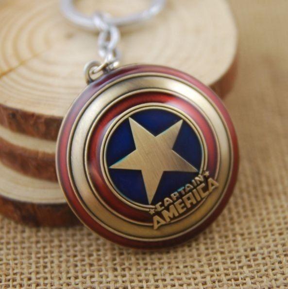 Chaveiro Capitão América Bronze