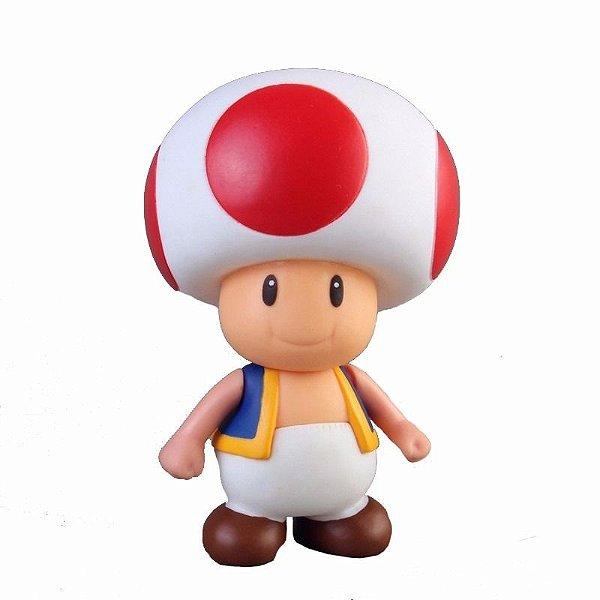Boneco Toad - Super Mário Bros.