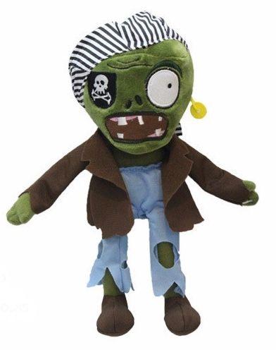 Boneco Zumbi Pirata - Plantas vs Zumbis II
