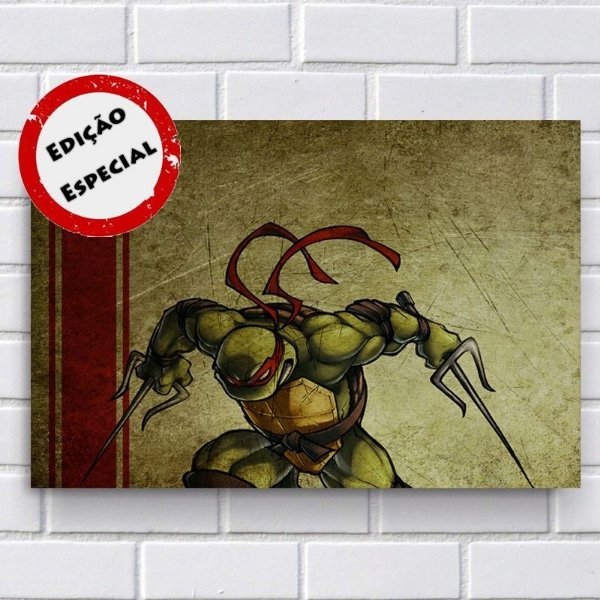 Adesivo - Tartarugas Ninja Raphael