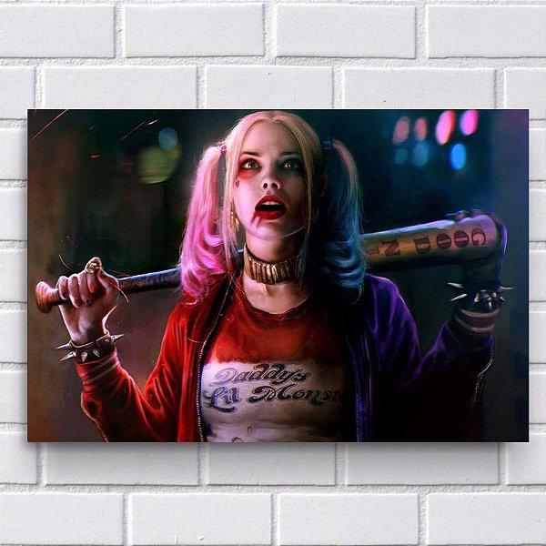 Placa Decorativa - Harley Quinn