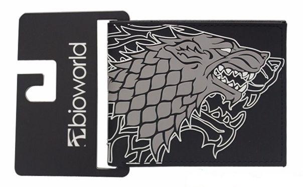 Carteira Game of Thrones - Família Stark