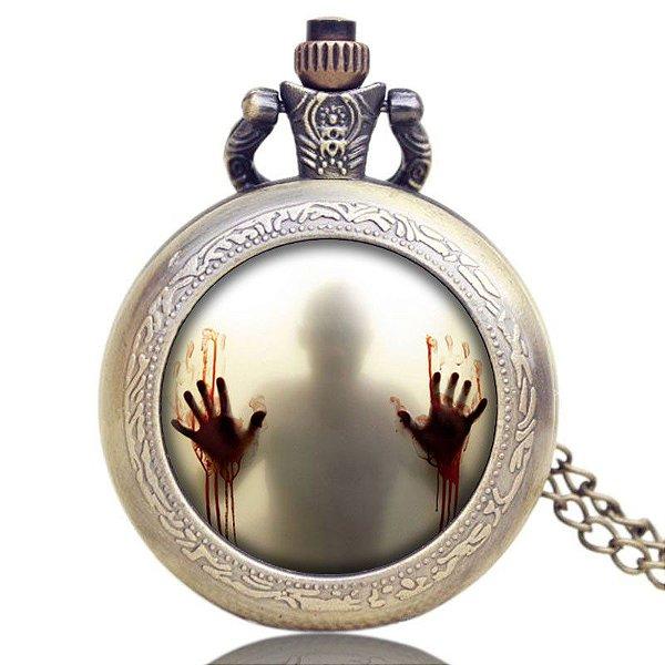 8dba1171f70 Relógio de Bolso - The Walking Dead - Mil Coisas Legais - O seu ...