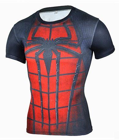 Camisa Homem Aranha Dark