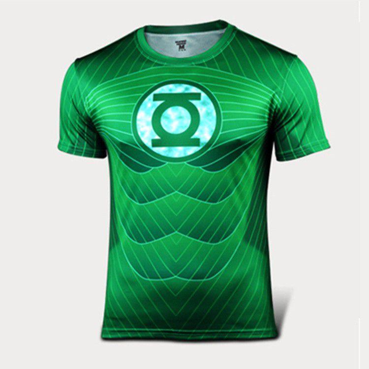 Camisa Lanterna Verde