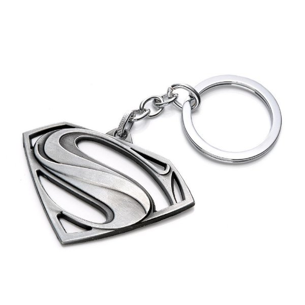 f2fbcb544211e Chaveiro Super Homem Prata - Mil Coisas Legais - O seu mundo Geek e ...