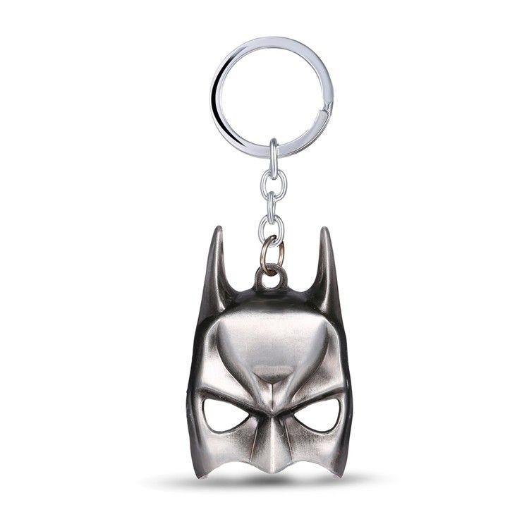 Chaveiro - Máscara Batman Prata