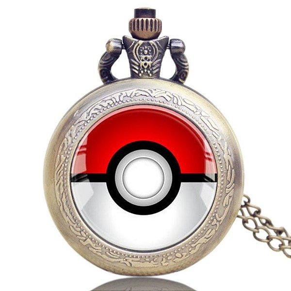 Relógio de Bolso - Pokemon