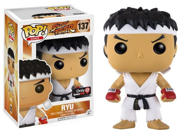 Funko Pop - Ryu Street Fighter