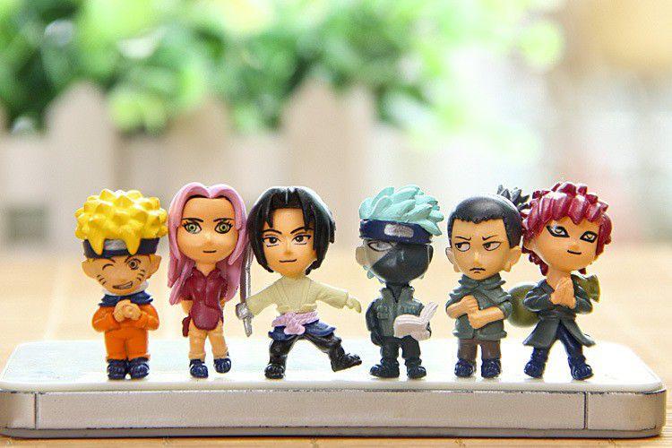 Coleção Miniaturas Naruto