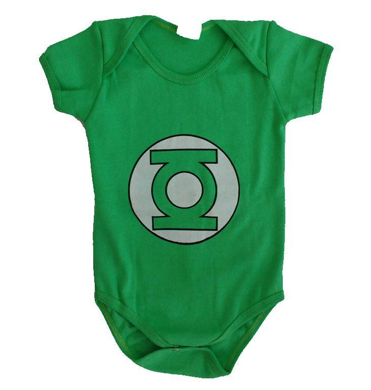 Body Bebê - Lanterna Verde