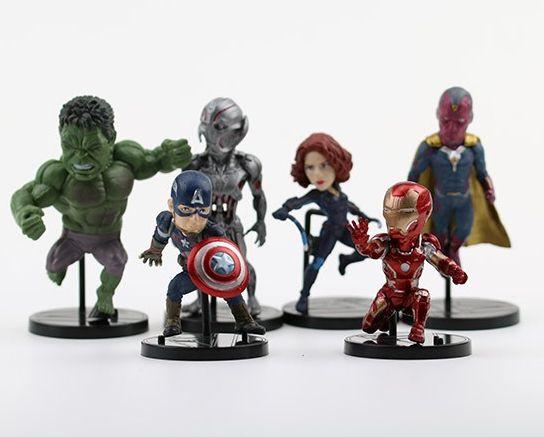 DUPLICADO - Coleção Miniaturas Super Heróis (Unidade)