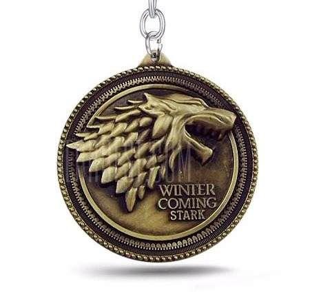 Chaveiro Game of Thrones Bronze