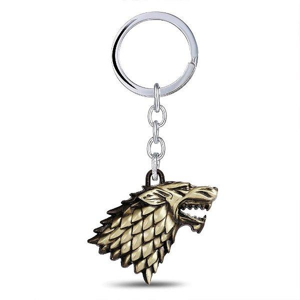 Chaveiro Game of Thrones - Winter is Coming Bronze