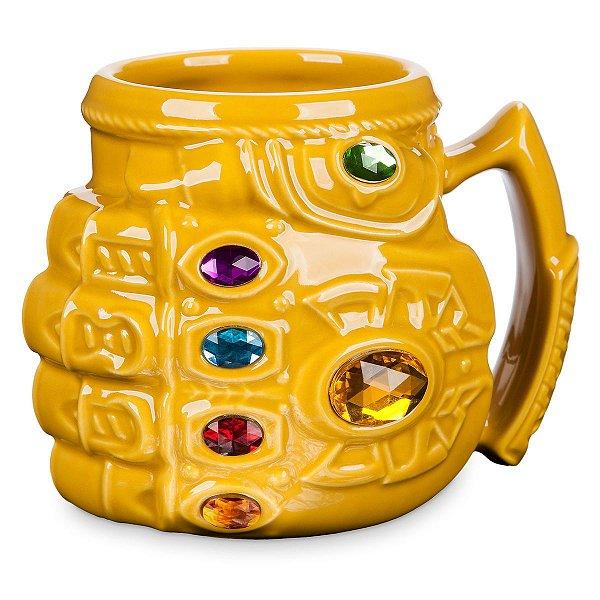 Caneca Manopla Thanos - Oficial Disney