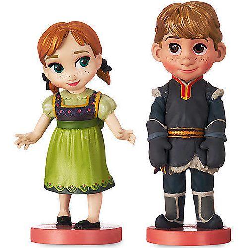 Miniaturas Anna e Kristoff (Frozen) - Oficial Disney