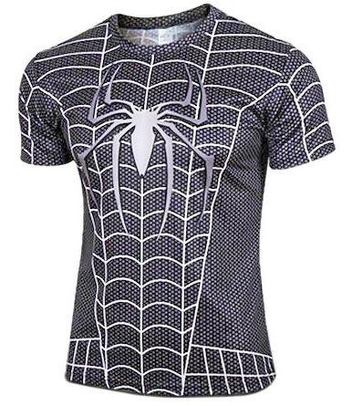 Camisa Homem Aranha Black (M)