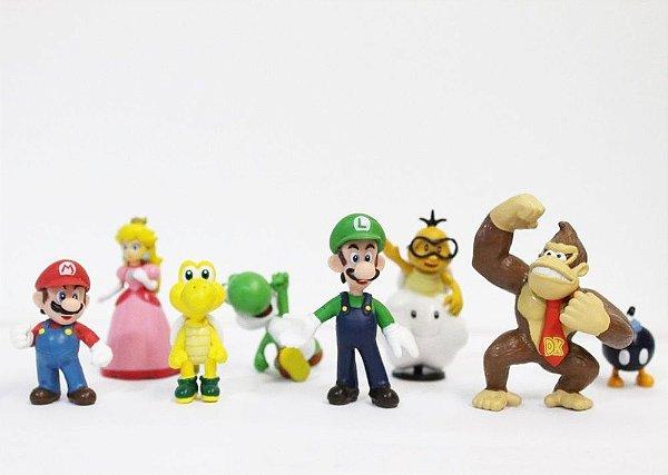 Coleção Miniaturas Mario Bros