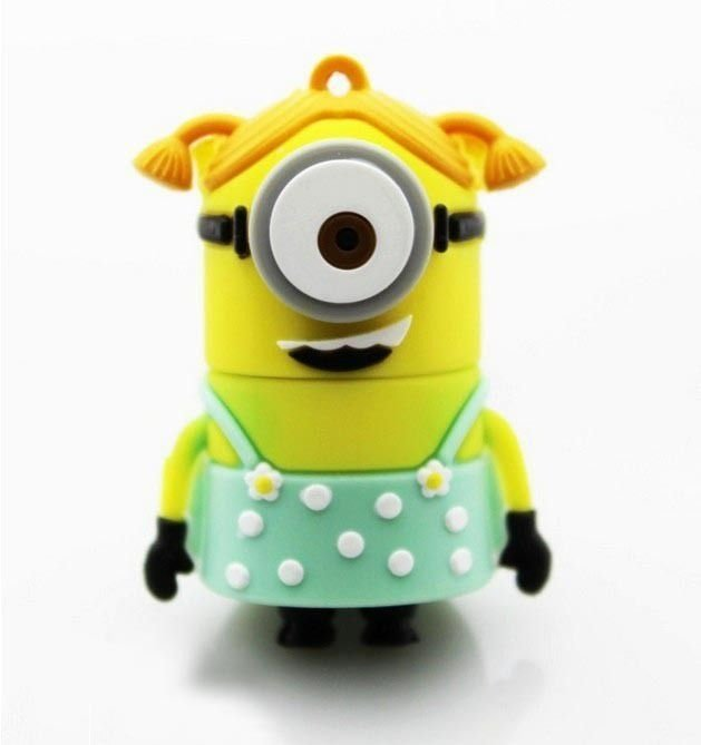 Pendrive 8GB - Minion Girl