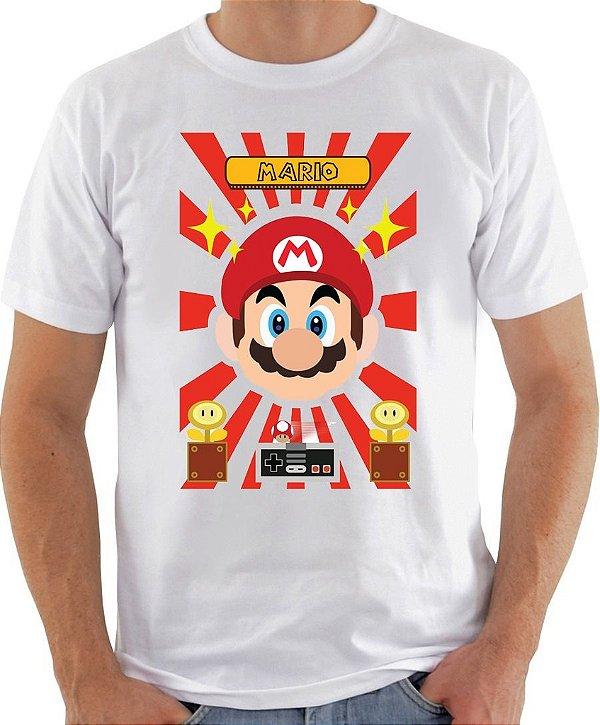 Camisa Mario Bros