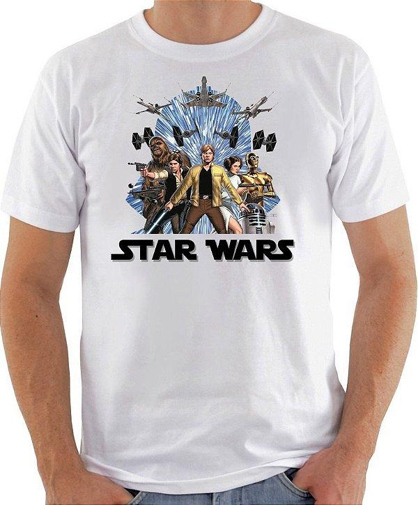 Camisa Star Wars III