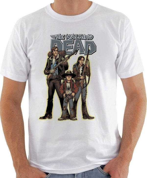 Camisa The Walking Dead - Hunt Zombie