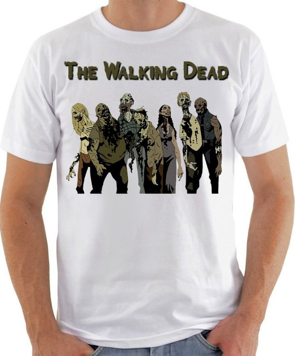 Camisa The Walking Dead - The Zombies