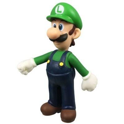 Boneco Luigi - Super Mário Bros.