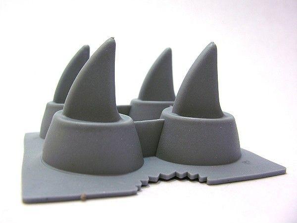 Forma de Gelo Barbatana de Tubarão