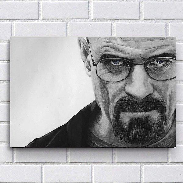 Placa Decorativa - Breaking Bad Heisenberg