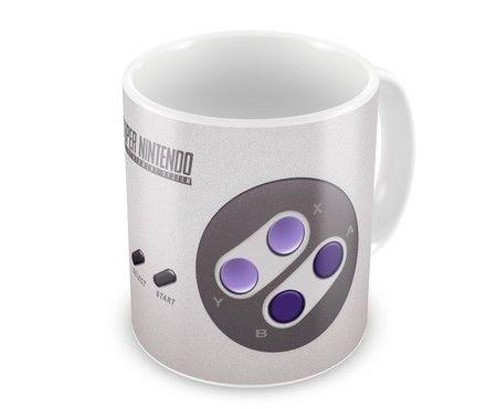 Caneca Geek - Controle Super Nintendo