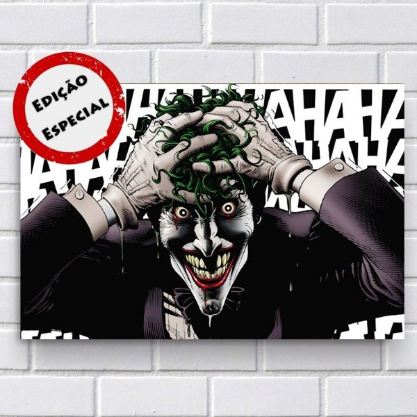 Placa Decorativa - Coringa (Joker)