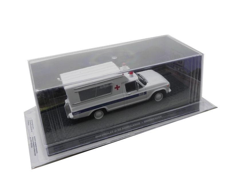 Chevrolet C-10 Ambulância Moonraker  007 Contra O Foguete Da Morte 1/43 Ixo 1/43 Ixo Ck9991058