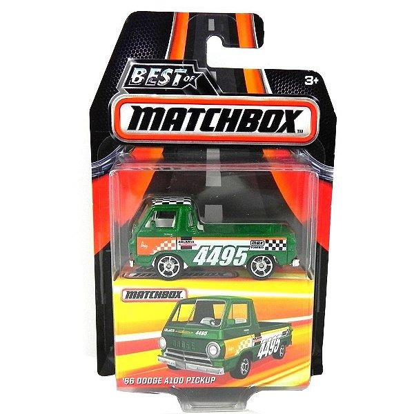 1966 Dodge A100 Pickup 1/64 Best Of Matchbox Matchdkc71-2B10