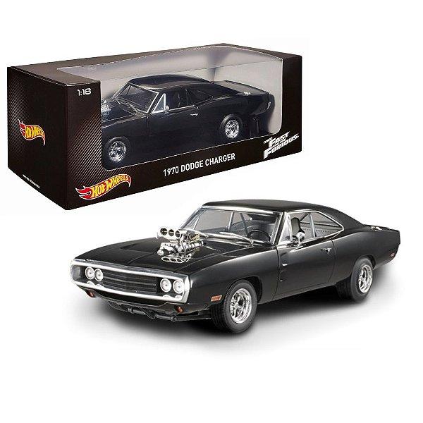 1970 Dodge Charger Dominic Toretto Velozes E Furiosos 1/18 Hot Wheels Hotcmc97