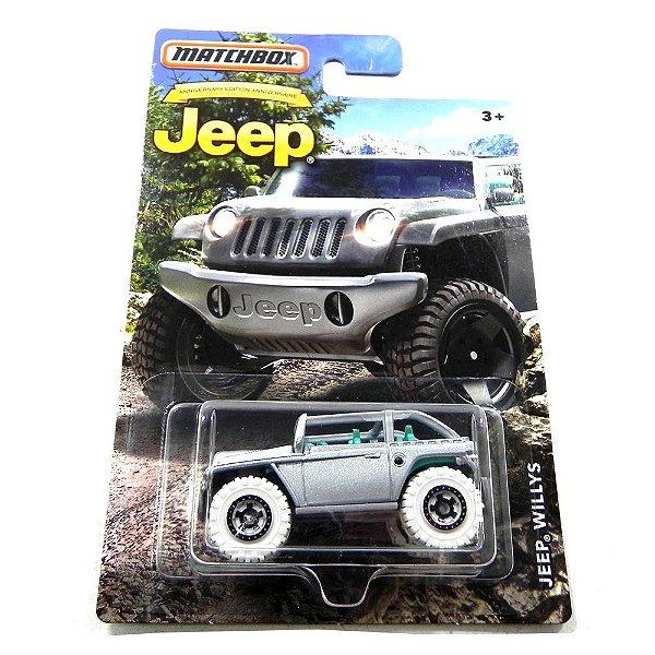 Jeep Willys 1/64 Matchbox Matchdmn27-2B10