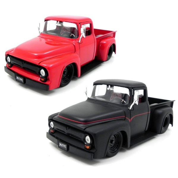 1956 Ford F-100 Pick-Up 1/24 Jada Toys Jad90484 - 2 Cores