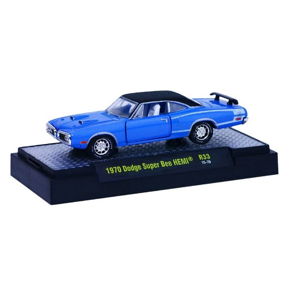 1970 DODGE SUPER BEE HEMI 1/64 M2 MACHINES DETROIT-MUSCLE R33 M2M32600-33