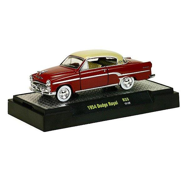 1954 DODGE ROYAL 1/64 M2 MACHINES AUTO-THENTICS R33 M2M32500-33